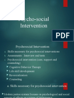 Psychosoical Intervention