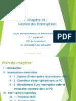 CH 05_Gestion des Interruptions_IRT_21