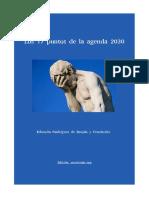 Ser y Actuar - E.Rguez.de Brujón y Fdez. Los 17 puntos de la agenda 2030 (Marzo 2021) (5P)