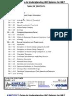 Understanding IBC Seismic for MEP