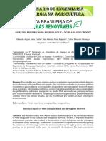 ASPECTOS HISTÓRICOS DA ENERGIA EÓLICA NO BRASIL E NO MUNDO