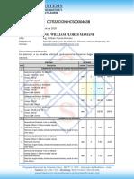 Cotización Suministro de Equipos de helicocentrifugo 2021 abril