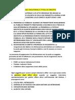 PUBBLICITA E TITOLI DI CREDITO