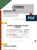 Estudios Técnicos, Sección 2