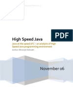High Speed Java