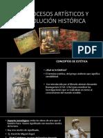 LOS PROCESOS ARTÍSTICOS Y SU EVOLUCIÓN HISTÓRICA