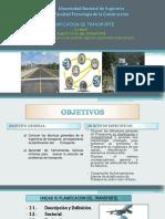 UNIDAD III-PLANIFICACION DEL TRANSPORTE