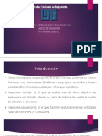 UNIDAD II-4- MODO DE TRANP ESPECIAL