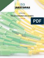 202104 Gaestopas Catálogo Telecomunicaciones Tercera Edición