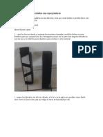 macetas verticales recicladas con cajas plasticos
