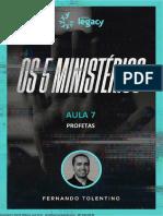 Aula+07+ +Profetas+Oficial+ +Os+5+Ministe Rios+