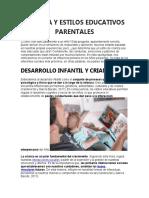 CRIANZA Y ESTILOS EDUCATIVOS PARENTALES