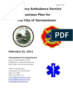 GFD Ambulance Service Business Plan