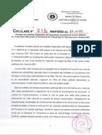 Cameroun Circulaire n°016 MINFI DGD du 18 janv 2021 modalités d'application des dispo douanières LF 2021