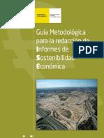 Guía Redacción Informes de Sostenibilidad Económica