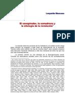 Moscoso, Leopoldo - La comdrarona, el conspirador y la etiología de la revolución