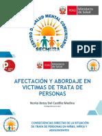 AFECTACIÓN Y ABORDAJE PSICOLOGICO EN VICTIMAS DE TRATA DE PERSONAS_ NORKA DEL CASTILLO MEDINA
