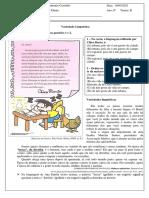 Variações linguísticas - Língua Portuguesa - 6º ano