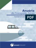 Anuário do Transporte Aéreo 2019 - sumário executivo