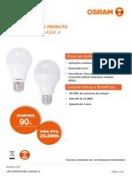 Datasheet - LED Classic CLA35-40-60-75-90