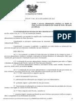 Dec. nº 27.685-2018 - Institucionalização do SEI RN