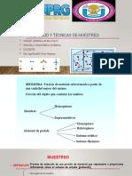 METODOS Y TECNICAS DE MUESTREO -2020-II