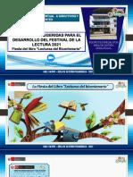 Ppt Estrategias - Festival de La Lectura 2021 Rhm