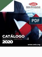 CMIC Catalogo de Productos y Servicios 2020