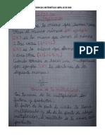 EVIDENCIAS MATEMÁTICAS ABRIL 20 DE 2020