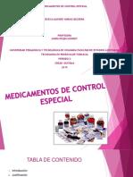 MEDICAMENTOS DE CONTROL ESPECIAL (1)