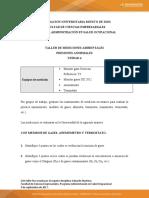 Taller de medicion ambiental y presiones anormales