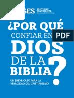 Porque Confiar en El Dios de La Biblia - SES - 3ra Edicion