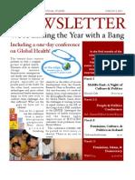 Mount Allison Centre for International Studies March Newsletter