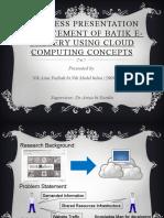 Progress presentation_Nik Aimi Fadiah(cs2266A)