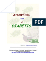 Ayurvedic Diabetes Cure