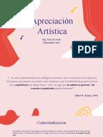 Apreciacion Artistica