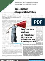 Bulletin d'information de la LJCQ 3 décembre 2010