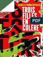 Trois filles en colère_ISABELLE PANDAZOPOULOS_Gallimard