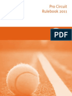 ITF Pro Circuit Rulebook 2011