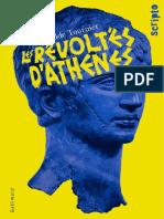 Les Révoltés d´Athènes_MATHILDE TOURNIER_Gallimard