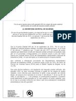 Proyecto Resolución - Rangos del avalúo catastral para el año gravable 2020 determinandes de la tarifa del impuesto predial unificado