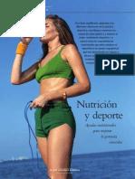 Nutricion en el deporte