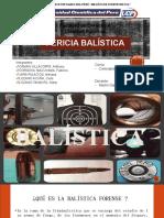 Pericia Balística-Grupo 5. PPT