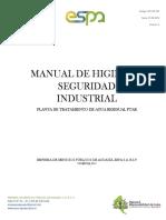 Manual de Higiene y Seguridad