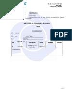 Informe de Visita Tecnica Etaciones de Bombeo Urb Las Higeras Jose Galvez