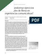 Cómo transformar ejercicios tradicionales de libros en experiencias comunicativas