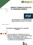 Tratamiento farmacologico en el sindrome uremico