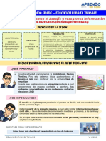I EXPERIENCIA DE APRENDIZAJE - ACT 1-  1° y 2° GRADO