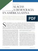 Cinco falacias sobre la democracia en América Latina