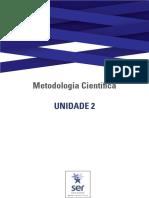Guia de Estudos da Unidade 2 - Metodologia Científica